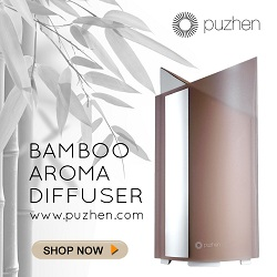 Puzhen Aroma Diffuser Bamboo